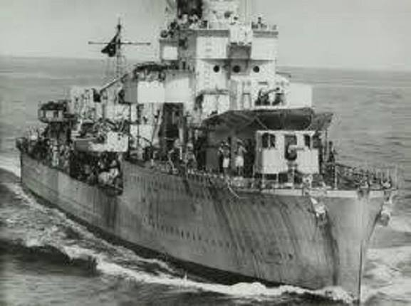 The HMS Electra was launched by the British Navy on February